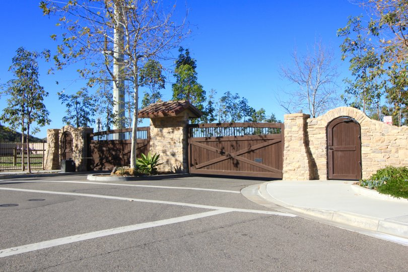 Homeowners enjoy the privacy they receive behind the gates in Valinda