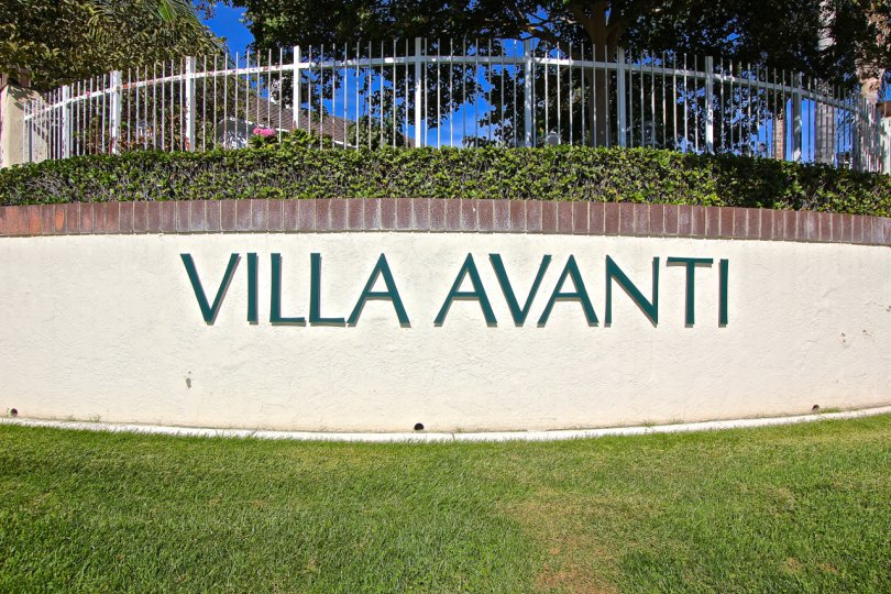 Entrance to Villa Avanti in Temecula Ca