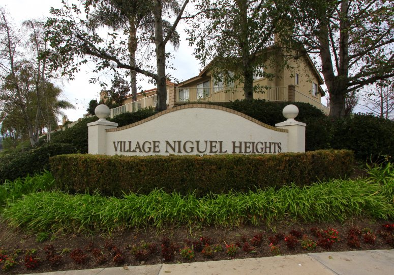 Marquee and entrance at sign in Village Niguel, Laguna Niguel CA