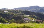 A view of neighborhood multi million dollar estates from Trousdale Estates
