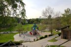 Bring your children to the playground at Olinda Village in Brea Ca