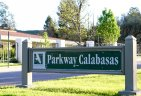 Calabasas Park Estates is off Parkway Calabasas