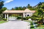 Mountain View Estates is a gated community in Calabasas CA