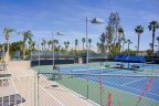 Multiple Tennis courts available for residents to use at Desert Princess