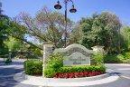 Crown Ridge Estates Community Marquee in Chino Hills Ca