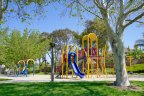 The tot lot at Hunters Hill features newer playground equipment