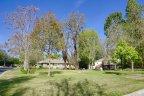 A grassy parklike area of Payne Ranch