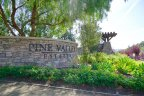 Pine Valley Estates Community Marquee in Chino Hills
