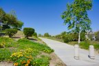 A jogging path that is adjacent to Pinehurst Hills in Chino Hills