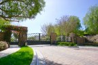 Ridgegate is a private gated residential community in Chino Hills
