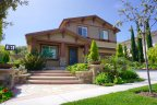A craftsman style home at Ridgegate in Chino Hills California