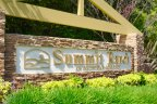 The sign at the entrance of the Summit Ranch neighborhood