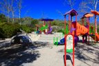 Crooked Oaks families can enjoy the fun and colorful playground at the Coto Sports Park