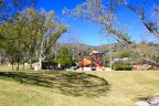 East Hill families can enjoy the fun and colorful playground at the Coto Sports Park