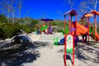 The Woods families can enjoy the fun and colorful playground at the Coto Sports Park