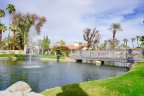 The community of Los Lagos certainly earns its name with its beautiful lakes and water features