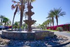 This beautiful fountain is located at the entrance of Desert Shores