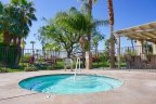 Residents of Desert Shores can relax in their own private community spa