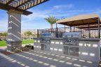 Outdoor BBQ's at the Indio neighborhood of Four Seasons at Terra Lago
