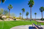 A large greenbelt / park at Sandhurst Cove in Indio