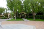 The entrance to the private community of Northpark in Irvine Ca