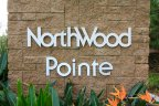 The sign at the entrance to the Irvine neighborhood of Northwood Pointe