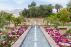 Great fountain in La quinta at Andalusia Country Club