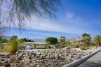 Homes sit atop a hill with a great view of Desert Club Estates in La Quinta