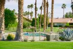 Beautiful community pool at La Quinta Country Club Estates