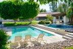 Beautiful community pool at La Quinta Country Club Golf Estates