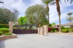 La Quinta Polo Estates is a private gated residential neighborhood