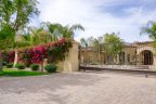 A private spanish residence within the gates of La Quinta Polo Estates