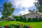 A private residential home at Lake La Quinta