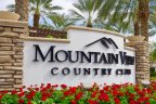 Mountain View Country Club Community Marquee