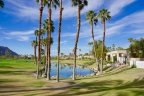 Palm Trees dot the community of PGA West Nicklaus Tournament in La Quinta Ca