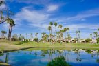 The well manicured golf course at PGA West Nicklaus Tournament in La Quinta