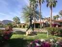A statue within the PGA West Weiskopf neighborhood