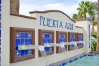 Puerta Azul Community Marquee