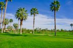 The beautiful golf course at Rancho La Quinta Country Club
