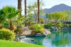 A view of the lake at The Citrus in La Quinta Ca
