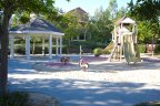 Bring your children to play on the well kept up playground equipment at Briar Rose