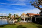 Several Lakefront homes in Lake Forest Keys