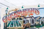 California Heights Community marquee