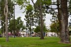 Swings and jungle gym for California Heights to enjoy