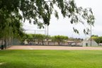 Baseball field in Pan American Park located in Lakewood Village