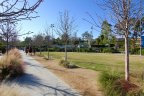 Enjoy miles of walking paths in the Casta Del Sol community