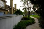 Walking paths wind through the community of Emerald Pointe in Mission Viejo