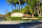The entrance to the Pacific Hills neighborhood in Mission Viejo
