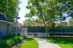 The Community center of Creekside offers tennis courts