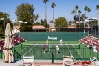 Watch or play a match of tennis at Deep Canyon Tennis Club